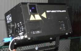 カラーレーザーK800RGBS 照明機材レンタル-株式会社RKB