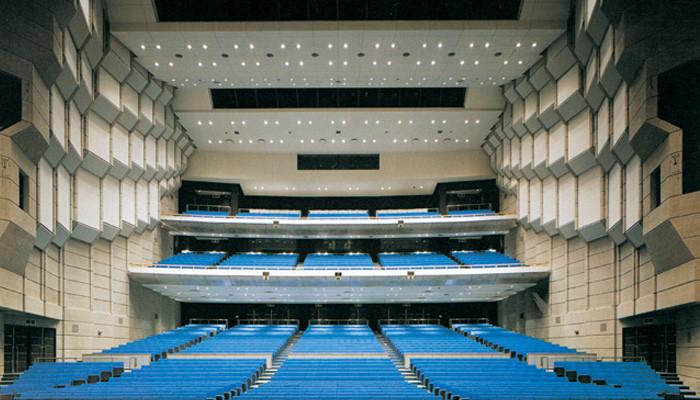 郡山市民文化センター大ホール客席