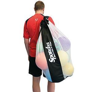 Sac ajouré renforcé pour transport de matériel sportif : ballons, chasubles...Sac ajouré renforcé à acheter pas cher.