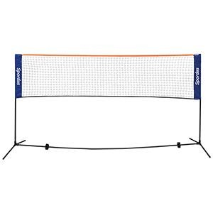 Filet de tennis badminton transportable mat riel sportif et p dagogique - Hauteur filet tennis de table ...