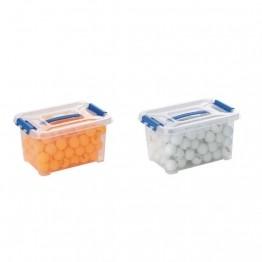 Bac 100 balle tennis de table 40 mm - 2 étoiles Le bac de 100 balles Coloris : Blanc, Orange
