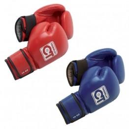 Gants de boxe Anglaise, Française rouge ou bleu