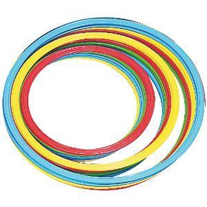 Cerceaux plats, adaptés pour les jeux sportifs des enfants