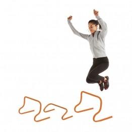 Mini-haies de saut pour l'athlétisme. 3 dimensions au choix!