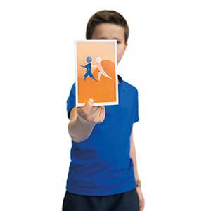 Jeu des cartes du fair-play. Apprenez à jouer fair play pour les enfants avec ces cartes de jeu. Acheter pas cher.