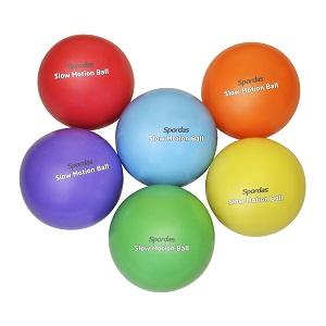 Ballons sensoriels handisport lestés Spordas. Ballon ralenti avec du sable. Lot de 6 ballons à allure ralentie, idéal pour les handisports ou les enfants à acheter pas cher.