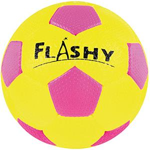 Ballon de football fluo en caoutchouc cellulaire. Ballon de football pas cher.