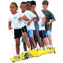 Ski d'équipe coopératif enfant. Matériel de jeux de coopération à acheter pas cher.