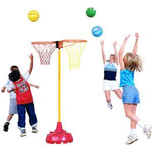 Panier de basket-ball avec 2 paniers pour sport enfants