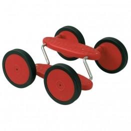 Pedalgo ou Acrobatic 4 roues pour les jeux d'équilibre de jonglerie.