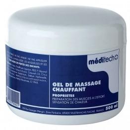 Gel de massage chauffant pour clubs de sport : football, basket-ball, handball, volley-ball, rugby