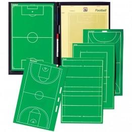 Carnet tactique entraînement et matchs de football