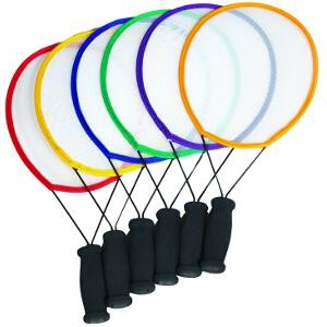 Raquettes de Tennis initiation adaptées aux enfants à acheter pas cher. Raquettes en lot de 6, légères et faciles pour jouer au tennis.