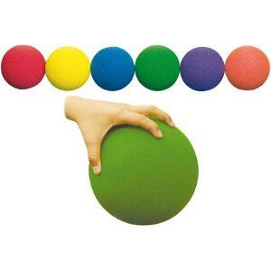 Lot de 6 ballons ou balles en mousse. Idéal pour les jeux avec les enfants.