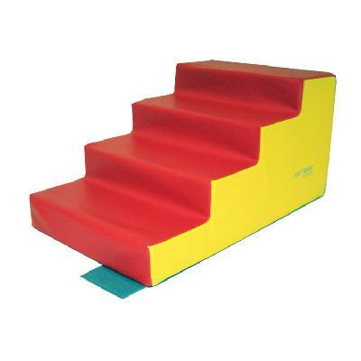 escalier 4 marches maternelle sarneige mat riel sportif. Black Bedroom Furniture Sets. Home Design Ideas