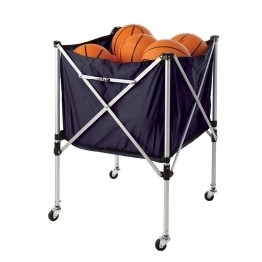Rack de rangement de ballons de sports en toile : football, basket-ball, handball, volleyball