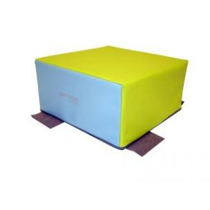 Cube en mousse Sarneige enfants. Cube de modules en mousse enfants Sarneige à acheter pas cher.