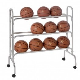 Rack de rangement pour ballons de sport, basket, football