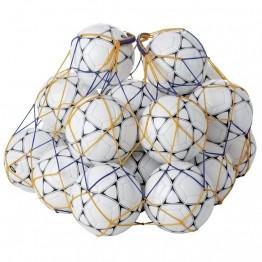 Filet de rangement pour 20 ballons de football