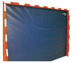 But de handball en mousse Sarneige. Cage ou but de handball en mousse 300 x 200 x 33 cm revêtement PVC grain cuir.