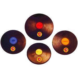 Disques de lancers de poids différents