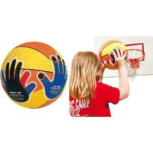 Ballon de basket-ball pour l'apprentissage du tir ou shoot des enfants et de qualité.