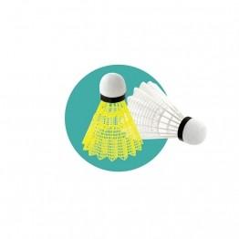 Volant de badminton base mousse ou pvc