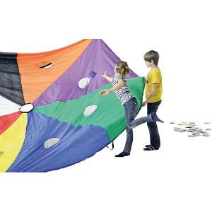 Jeu du parachute Nutrimove à acheter pas cher. Jeu coopératif du parachute.