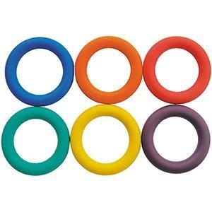Kit de 6 anneaux à lancer pour les enfants des écoles, centres de loisirs à acheter au meilleur prix.