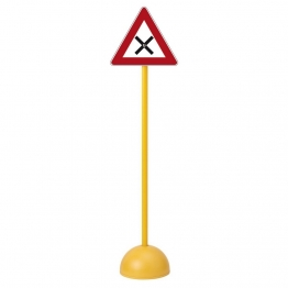 PANNEAU DE SIGNALISATION ROUTIERE intersection pas cher pour enfants.