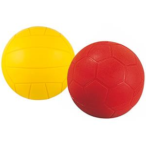 Ballon en mousse, idéal pour les jeux de football, volley-ball, handball avec les enfants