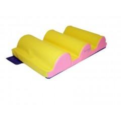Tapis 3 bosses crèche Sarneige en mousse enfants. Matériel tapis 3 bosses de modules en mousse enfants Sarneige à acheter pas cher.