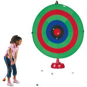Cible géante avec revêtement velcro à acheter pas cher. Cible géante Pop up diamètre géant de 2 mètres.