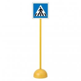 Panneau routier enfants Passage pour piétons pas cher et de qualité scolaire.
