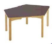 Table géométrique, mobilier pour petite enfance, assistantes maternelles, RAM à acheter pas cher. Large choix de tables géométriques de qualité pour l'aménagement des espaces petite enfance.
