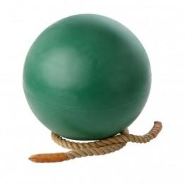 Chemin de corde pour boule d'équilibre.