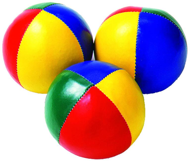 Balles à grains de jonglage, matériel de jonglerie