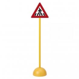 Panneau de signalisation routière passage pour piétons  pour vélos enfants scolaires et pas cher.