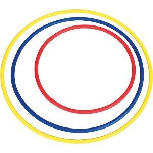 Cerceau rond classique, adapté pour les jeux sportifs des enfants