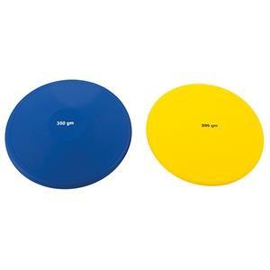 Disque de lancer souple en PVC pour l'athlétisme enfants.