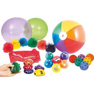 Pack pour jeux de parachutes enfants à acheter pas cher. Jeu coopératif du parachute.