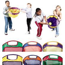 Paniers de réception coopératif enfant. Matériel de jeux de coopération à acheter pas cher.