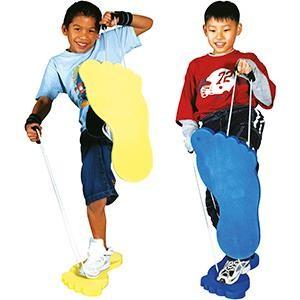 Pieds géants, matériel jeux d'enfants pour l'équilibre à super prix!