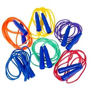 Cordes à sauter en vinyle pour enfants, scolaires, écoles primaires, centres de loisirs