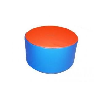 Aménagement coin enfant avec pouf table 32 cm en mousse Sarneige pour enfants. Matériel en mousse de qualité Sarneige à acheter pas cher.