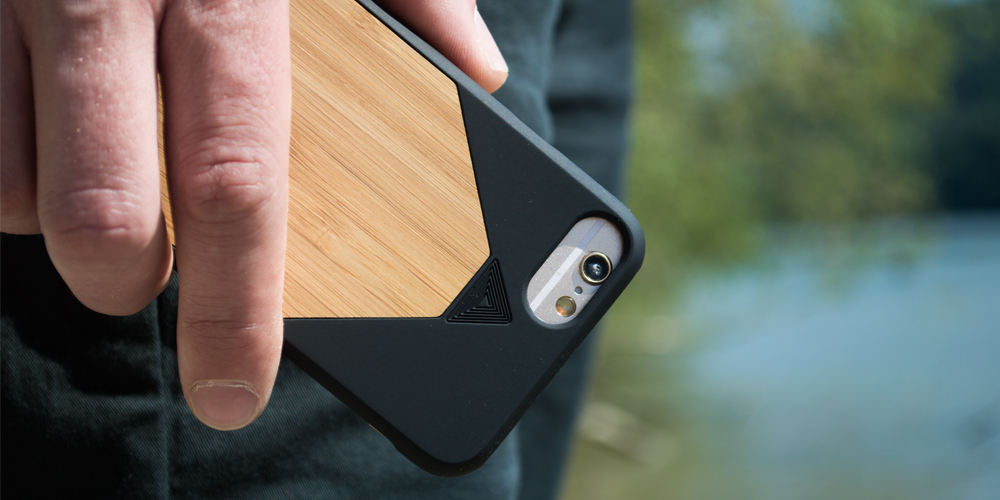 iphone funda en madera