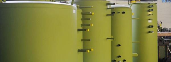 Behälterbau Wärmespeicher Kältespeicher, kundenspezifisch
