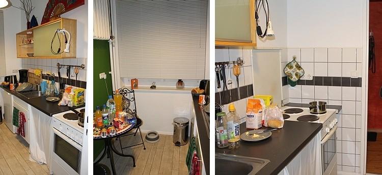 ...die Küche von allen Seiten...