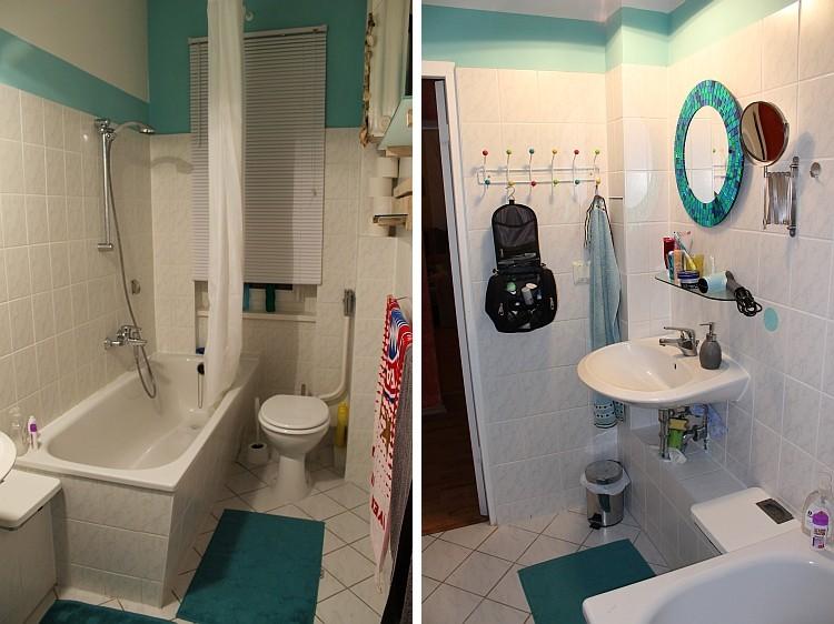 ...und das kleine Badezimmer!