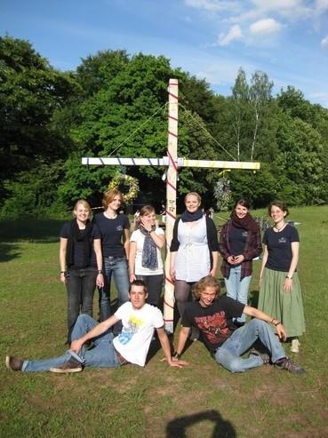 die Fachschaft an Midsommar 2011